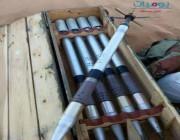 ضَبْط كميات كبيرة من الصواريخ الحديثة والمتطورة بعد فرار الحوثيين