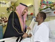 بالفيديو.. أمير الرياض للبطل العواجي: أقدم لك باسم المواطنين أجمعين كل الشكر والتقدير