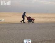 بالفيديو.. تعرَّف على قاطع 7 آلاف كلم مشيًا للوصول من إسبانيا إلى مكة