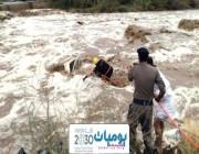إنقاذ أكثر من 154 شخصاً منذ يوم الأربعاء الماضي، جراء الأمطار والسيول على مناطق المملكة.