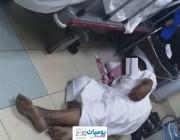 صحة جازان تعلّق على ملابسات الصورة المتداولة للمريض النائم على الأرض