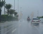 موجة أمطار متفاوتة على عدة مناطق بالمملكة