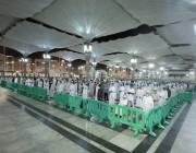 المسجد النبوي يتهيأ لاستقبال المصلين خلال العشر الأواخر من رمضان