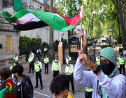الآلاف يتظاهرون ضد بيع السلاح لإسرائيل .. التفاصيل هنا !!