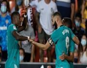 ريال مدريد يهزم فالنسيا ويتصدر الدوري الإسباني .. التفاصيل هنا !!
