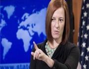ساكي : واشنطن ترفض الاعتراف بحكومة طالبان في أفغانستان .. التفاصيل هنا !!