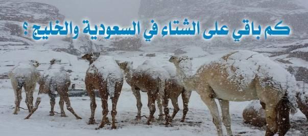 عداد لحساب الشتاء لعام 1440 هـ ومراحله … في السعودية ريحنا من سؤال كبار السن . الله يجزاء من سواه خير