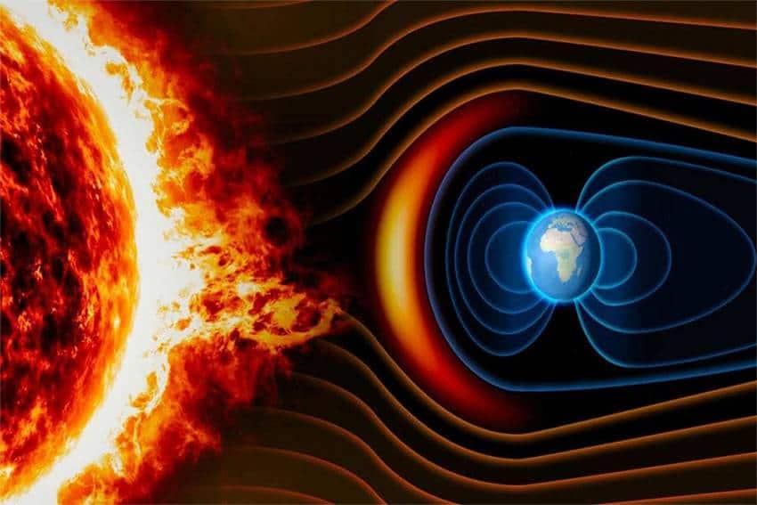 اليوم رياح شمسية بسرعة 1.6 مليون كم تصل كوكب الأرض .. التفاصيل هنا !!