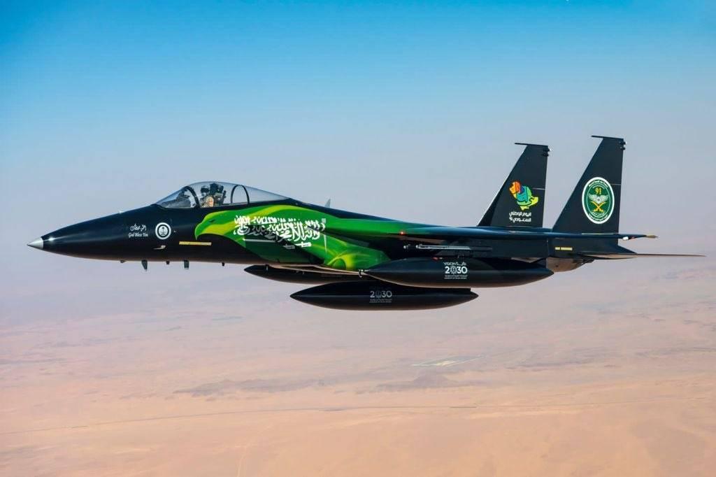 """""""الدفاع"""" تنشر الجدول الزمني لعروض الطيران التي تنفذها القوات الجوية الملكية السعودية بمناسبة اليوم الوطني91"""